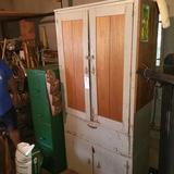 Primitive Cupboard Cabinet