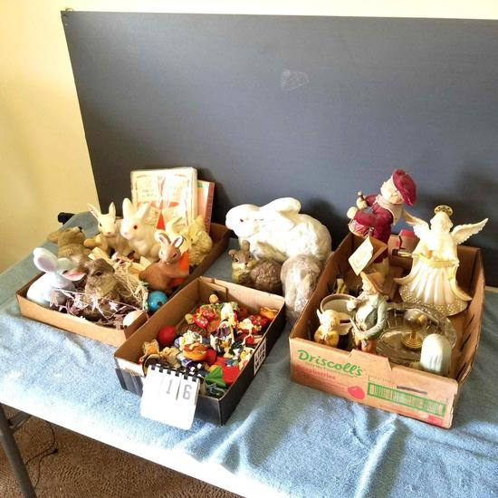 Various Figurines