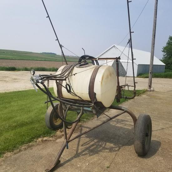Pull Type Pasture Spot Sprayer