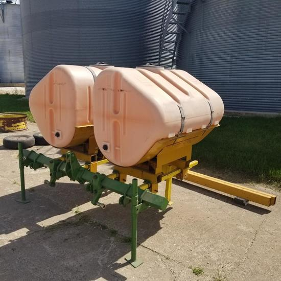 Ag Chem 500g Saddle Tanks with Mounts
