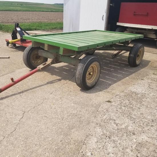 6x10 Seed Rack on John Deere 1064 Running Gear