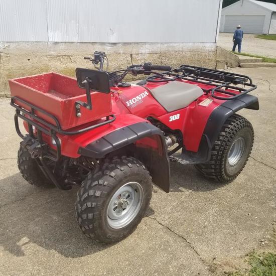 1996 Honda 300 2wd ATV