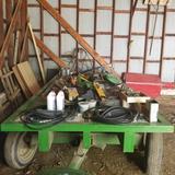 6x14 Seed Rack on John Deere Gear
