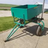 Triggs Pull Type Spin Seed Spreader