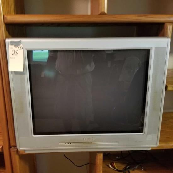Philips 27 in. TV and DVD/VHS Players