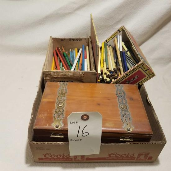 Various Bullet and lead pencils