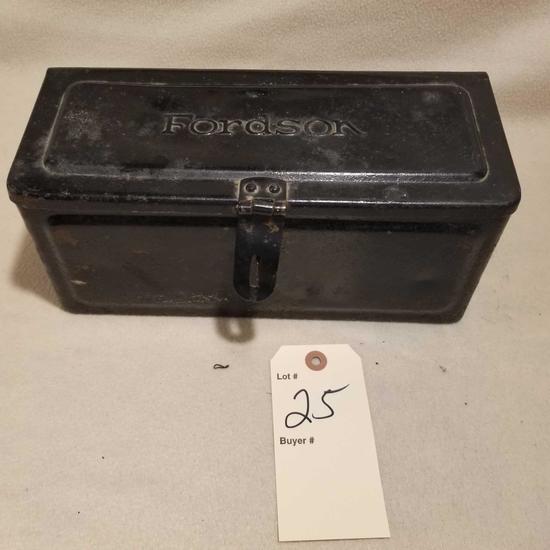 Fordson metal toolbox
