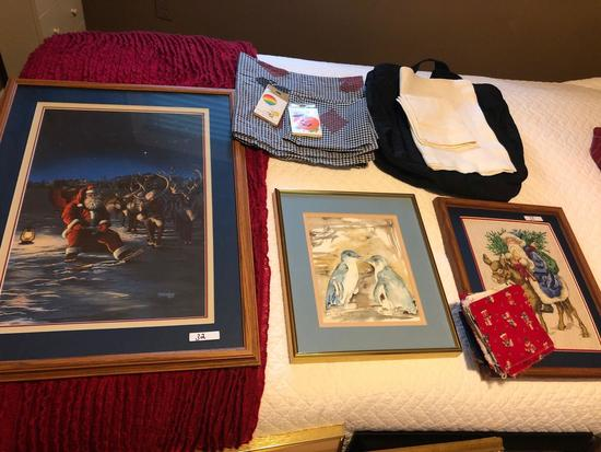 Various nice framed pictures