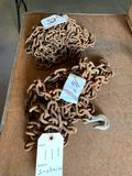 (1) 16' and (1) 32' log chains with hooks. No shipping