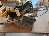 DeWalt model DW708 12'' gliding compound miter saw. No shipping