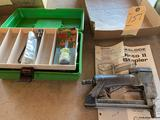 Pinto II air stapler with extra parts. No shipping