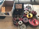 Dayton hole saw kit and many other various hole saws. No shipping