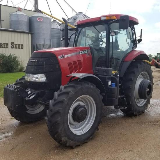 2012 CaseIH Puma 145 MFD Tractor, Powershift Transmission, Only 1080 Hours GPS Complete