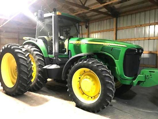 2004 John Deere 8420 MFD Tractor