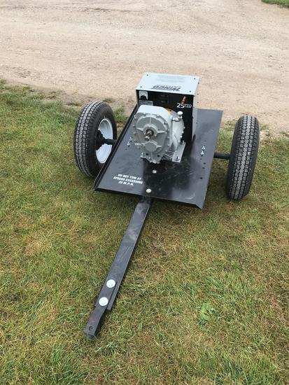 New Winco 25,000 Watt Generator on Cart