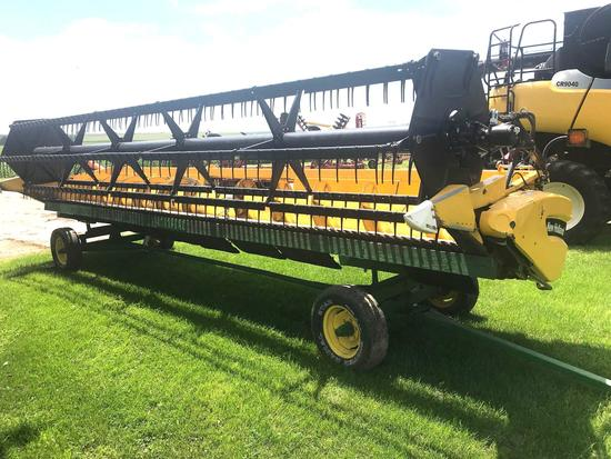 New Holland 74C 25' Bean platform