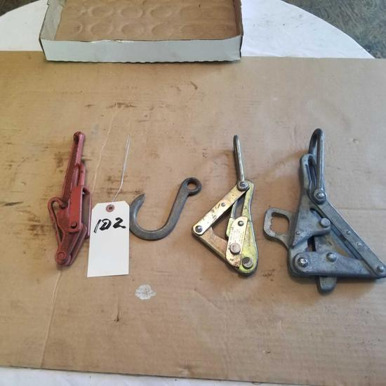 Assortment Chain Binder, Hook, and Cable Grips