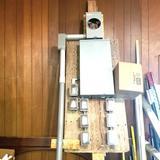 Temporary Jobsite Power Pole
