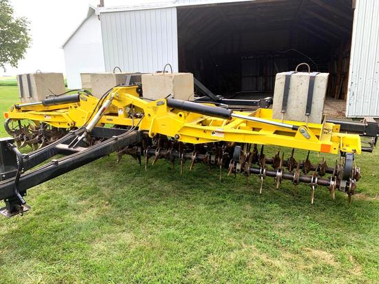 2012 Aerway 20' Pull Type Aerator w/ Remlinger Harrow