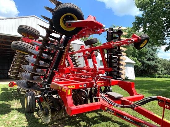 2014 Sunflower Model 6631 Veritcal TIllage Saber Blade, 24 Foot