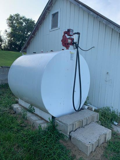 1000g Diesel Fuel Tank w/ Pump