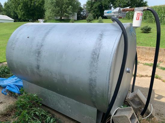 500g Diesel Fuel Tank w/ GPI Electric Pump