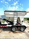 Meridian 240b Seed Tender on Kiefer 5th Wheel Tandem Trailer