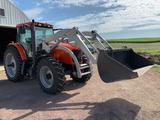 2008 Agco RT 110A Cab MFD Tractor with Westendorf 360 Loader ONLY 793 Hrs