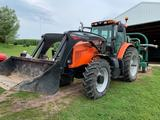 2007 Agco RT 155A Cab Mfd Tractor with Westendorf 560 Freedom Loader ONLY 3092 Hrs