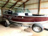 2012 Alumacraft Dominator 175 Boat and Shoreland'r Trailer
