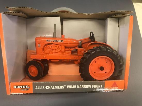 Ertl 1/16 Scale Allis Chalmers WD45 Tractor - NIB