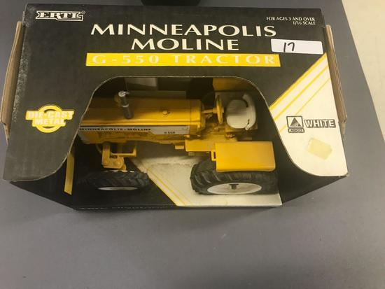 Ertl 1/16 Scale Minneapolis Moline G550 Tractor - NIB