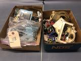 2 Boxes of Assortment of Cars and Trucks