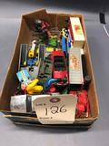 Assortment of Cars, Trucks and Tractor