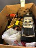 Assortment of Cars, Trucks and Toys