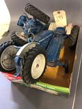 3- 1/16th Ford Tractors