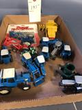 1/64th scale Tractors and Combine
