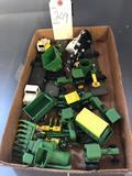 Assortment of John Deere 1/64th Farm Toys