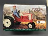 Ertl Collectibles 1/16 Foxfire Farm by Lowell Davis 901 Ford Tractor w/figurine-NIB