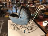 Wicker doll buggy - nice condition!