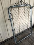 Metal/wire decorative yard gate