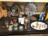 Vintage cookie cutouts, wood utensils, Ball jar rubbers, meat tenderizer, and more!