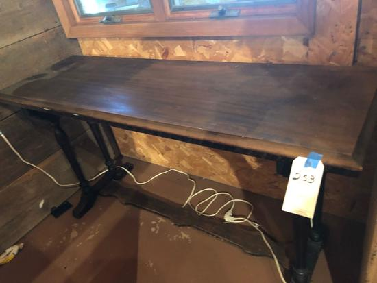 Hallway table (60'' W x 20'' D x 30'' H) No Shipping!