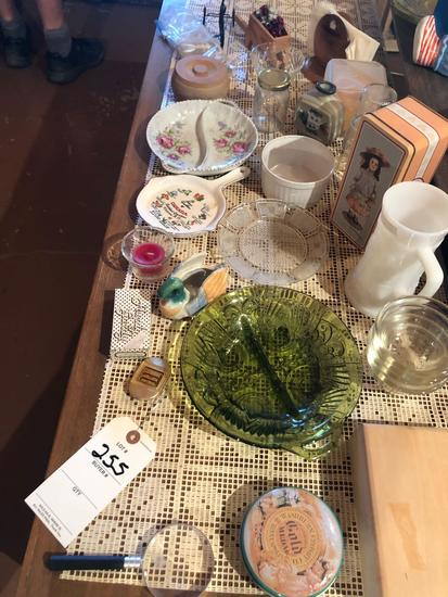 Candles, tins, cups, saucers, napkin holders, and more!