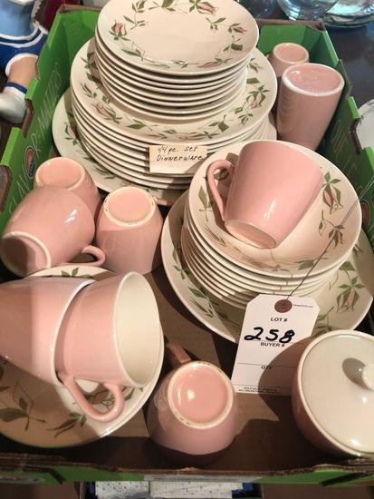 44-piece dinnerware set ~ Nice condition! No Shipping!