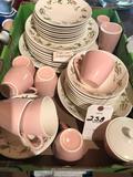 44-piece dinnerware set ~ Nice condition! No Shipping!