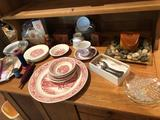 Taylor Smith dishes, Sango china/dishes, tablespoons, and more!