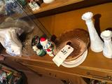 Day-of-the-Week embroidered dish towels, relish dish, milk-glass vases, and more!