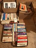 Various paperback books ~ 1960's Work Baskets, Kitchen Clatter, and more.