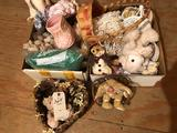 Stuffed animals, small wicker chairs, heart baskets, and more!